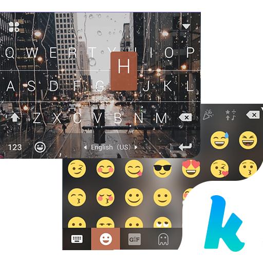 Rainy NewYork Kika Keyboard