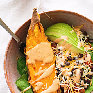 Sweet Potato Burrito Lunch Bowl