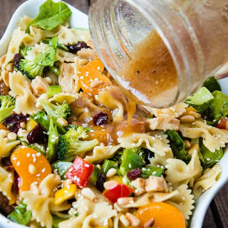 Teriyaki Chicken Pasta Salad.