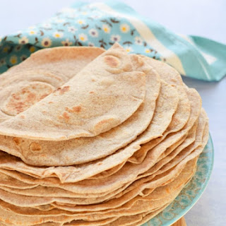 Homemade Tortilla Wraps Recipe