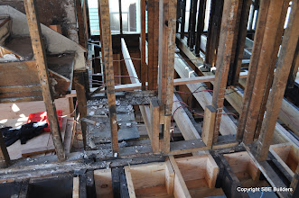 Photo: What a mess. Not sure how this wall was ever plastered.