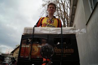 Photo: A mohlo se jet dál.  Svijanský náklad na cargo kole Bottico z pražského Bajkazylu vezl Petr z www.cyklobudejovice.cz