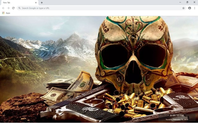 Ghost Recon Breakpoint New Tab Theme