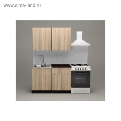 Кухонный гарнитур Сабрина лайт, 1200 мм