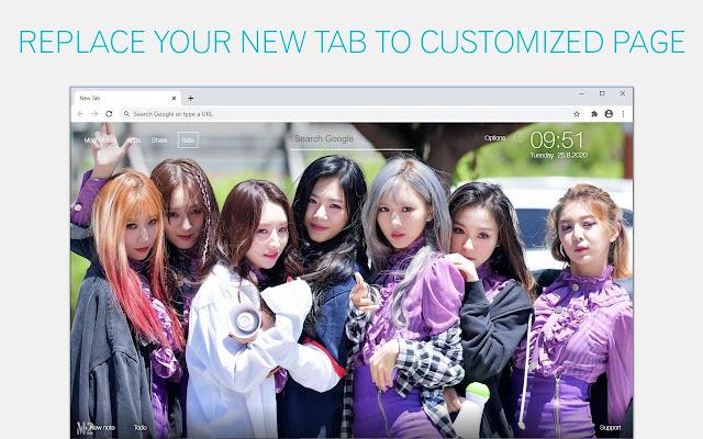 Kpop Dreamcatcher Wallpaper HD Kpop Dreamcatcher New Tab