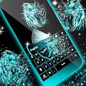 Neon Keyboard Tiger icon