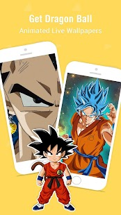 Anime Live Wallpaper - dragon ball wallpapers goku Screenshot