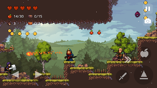 Apple Knight: Action Platformer MOD (Unlimited Gold/Apples/Items) 2