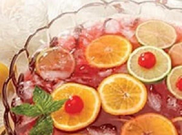 Sparkling Cranberry Orange Punch Recipe