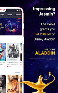 BookMyShow - Movies, Events & Sports Match Tickets Screenshot