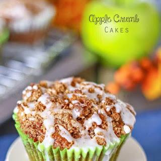 Apple Crumb Cakes.