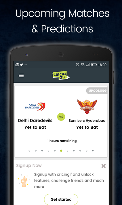 Cricingif - T10 Cricket League Live- screenshot