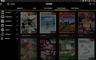Screenshot of Turkcell Dergilik