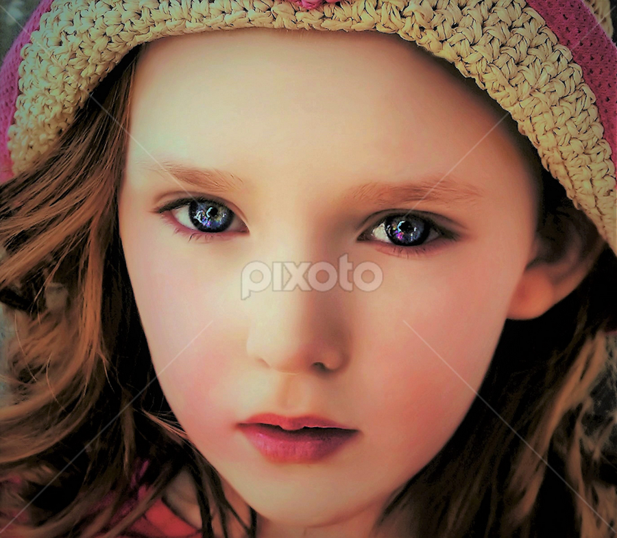 Nevaeh by Cheryl Korotky - Babies & Children Child Portraits