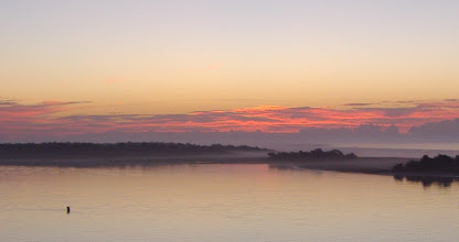 Photo: Sunrise on the fog...