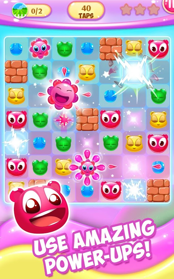 Gummy Pop: Chain Reaction Game- screenshot