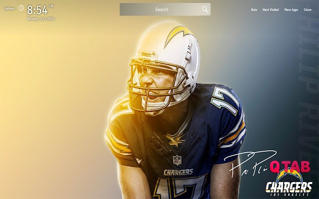 Los Angeles Chargers Wallpapers New Tab