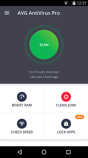 AntiVirus PRO Android Security app for Android screenshot