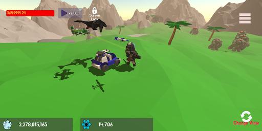 Mini Space Marine(Semi Idle RPG) screenshots 6