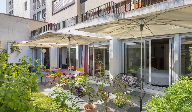 Appartement contemporain avec terrasse Boulogne-Billancourt