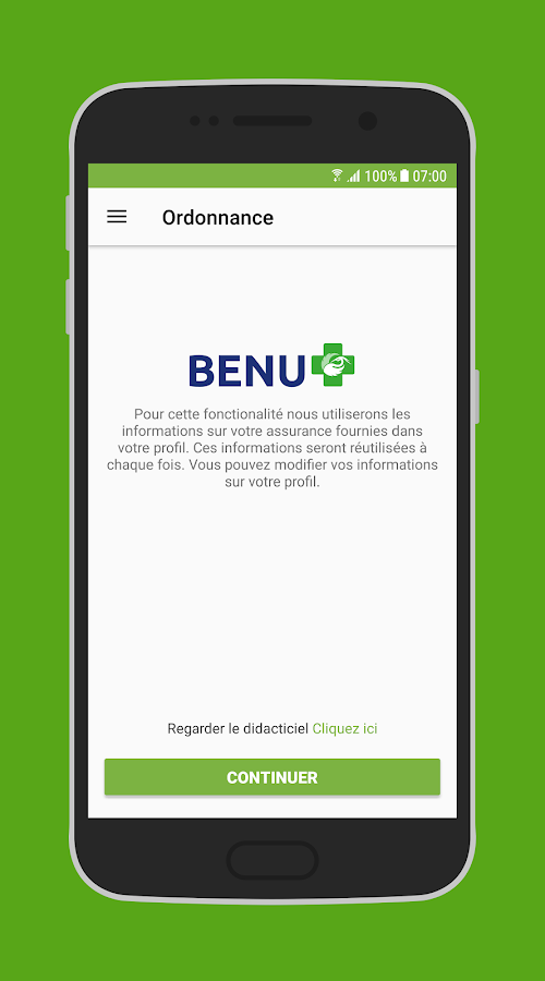 BENU- screenshot
