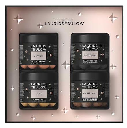 Black box winter 2020 – classic, gold, christmas, snowball - Lakrids by Bülow