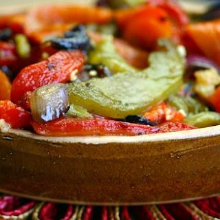 Grilled Pepper Salad (salada De Pimentos Assados).