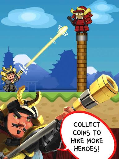武士大砲英雄|玩休閒App免費|玩APPs