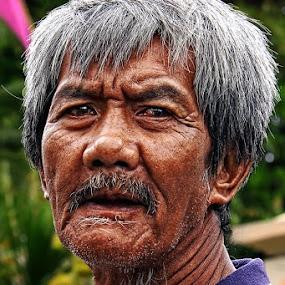 Lonely Man by Caraka Pamungkas - People Portraits of Men