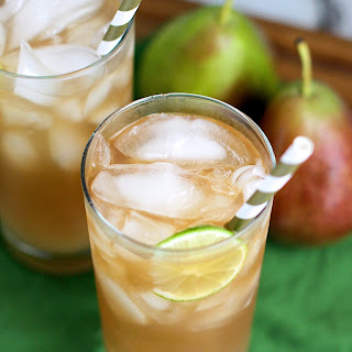 Pear Dark and Stormy