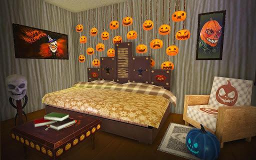 Halloween Home Designing  captures d'écran 1