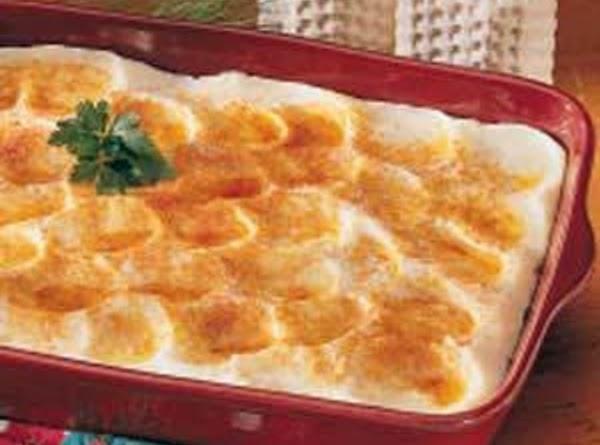 Potluck Mashed Potatoes Recipe