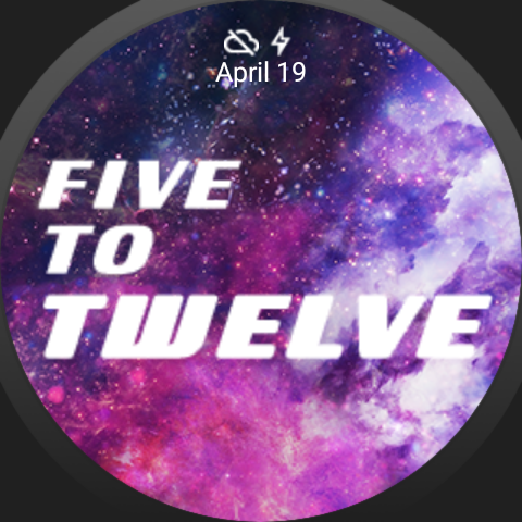 Fuzzy Watchfaces (Free)- screenshot