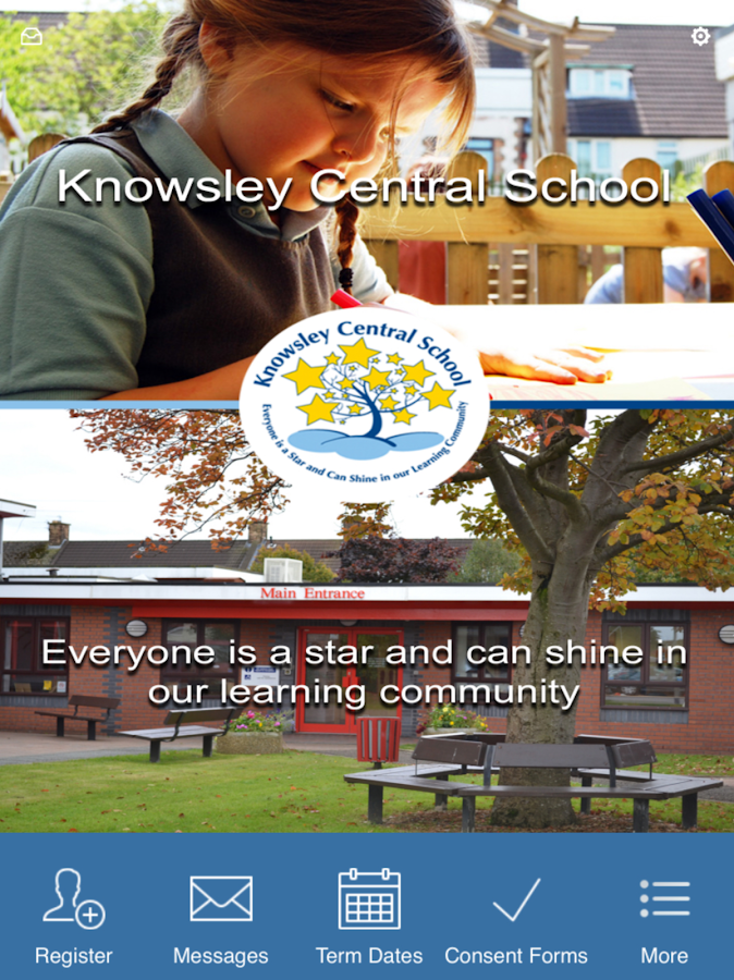 Knowsley Central School- screenshot