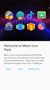 Marix - Icon Pack Screenshot