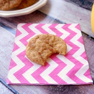 Banana Snickerdoodle Cookies