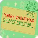 Merry Christmas And New Year icon