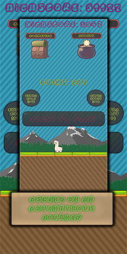 Happy Llama Jump screenshot 1
