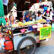 Photo: Pad Thai lady.  $1.25 per plate.  Khaosan Road.