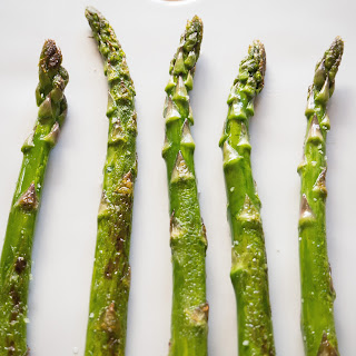 Pan Fried Asparagus with Olive Oil and Lemon Recipe