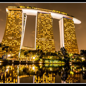 Marina Bay Sands by Won Yee Ong - City,  Street & Park  City Parks