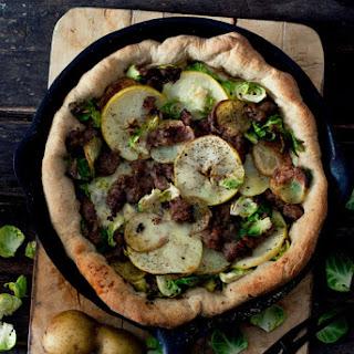 Autumn Skillet Pizza