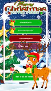 Merry Christmas Keypad Themes - náhled