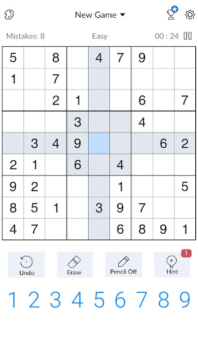 Sudoku - Free Classic Sudoku Puzzles by Beetles Games Studio