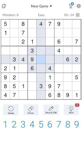 Sudoku - Free Classic Sudoku Puzzles 3.6.2 screenshots 2
