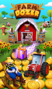 Farm Flowers Coin Party Dozer- screenshot thumbnail