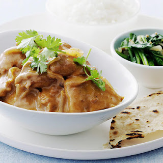 Butter Chicken with Spinach and Mustard Seeds