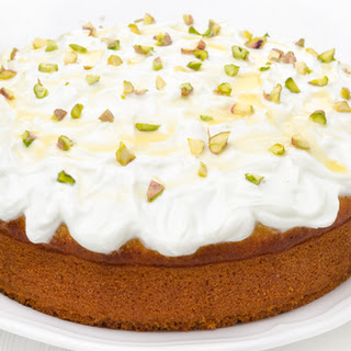 Honey Cake with Pistachios