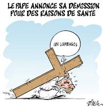 Photo: 12 02 2013_Le pape annonce sa démission.