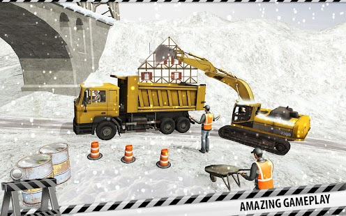 Snow Plow Truck Driver Simulator: Snow Blower Game
